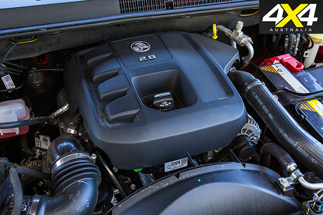 2017 Holden Trailblazer LTZ engine