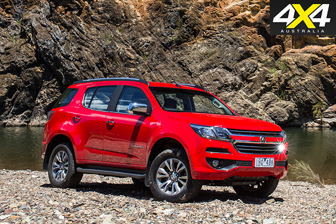 2017 Holden Trailblazer LTZ side