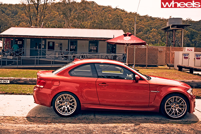 2013 Bmw 1m Coupe Unleashed In The Hunter Valley