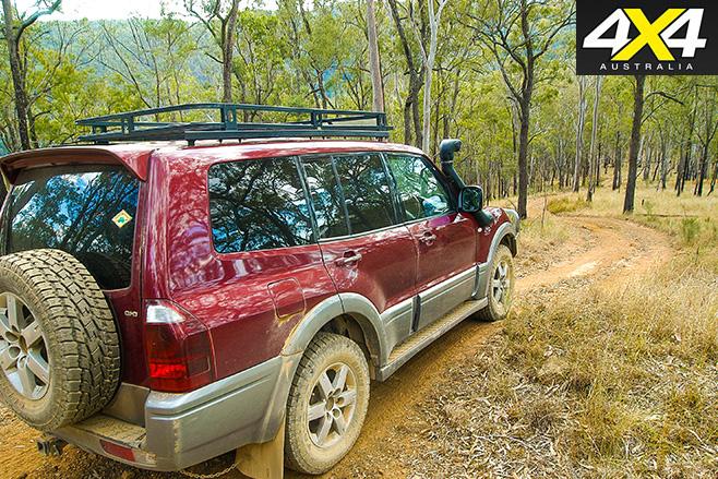 Steep 4WD tracks