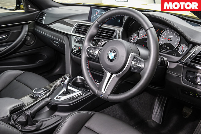 Mercedes -AMG-C63-S-Coupe -vs -BMW-M4-Competition -bmw -interior