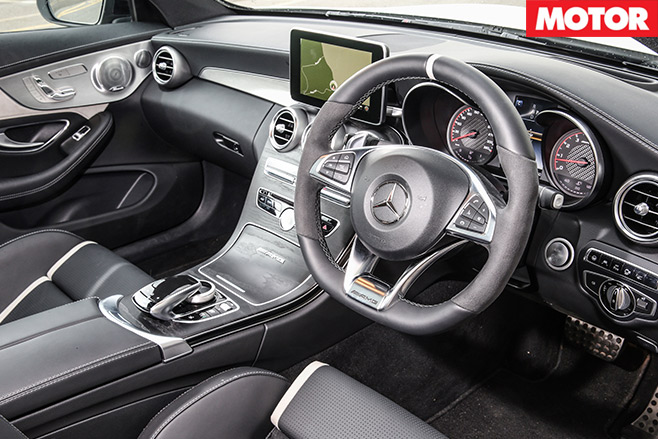 Mercedes -AMG-C63-S-Coupe -vs -BMW-M4-Competition -mercedes -interior