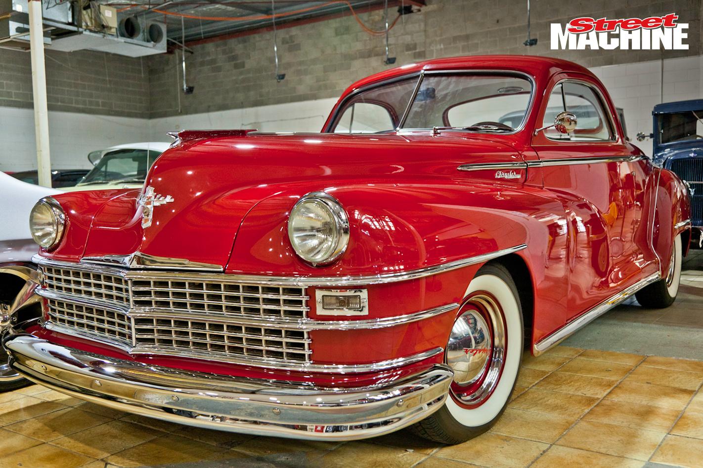 1948 Chrysler Windsor Coupe