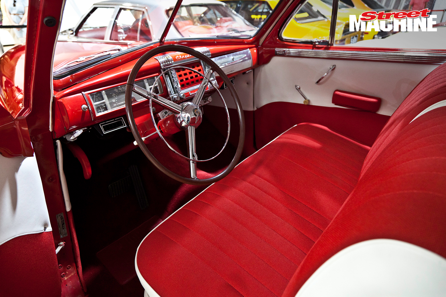 1948 Chrysler Windsor Coupe Interior