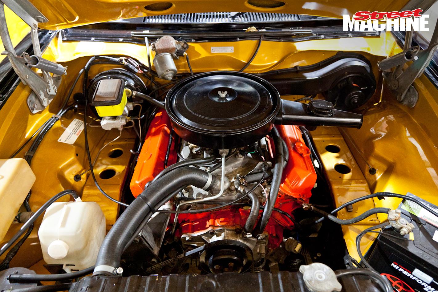Holden LX Torana A9X Sedan Engine