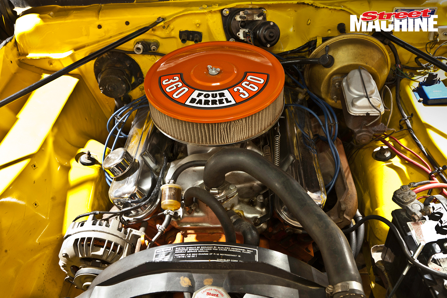 Plymouth Duster 360 Engine