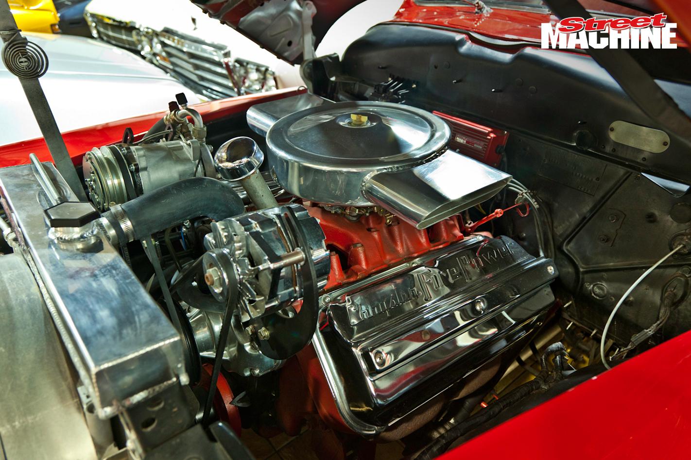 1948 Chrysler Windsor Coupe Engine