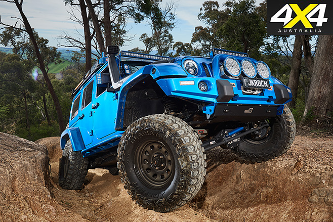 Custom Jeep Wrangler JKU Rubicon side