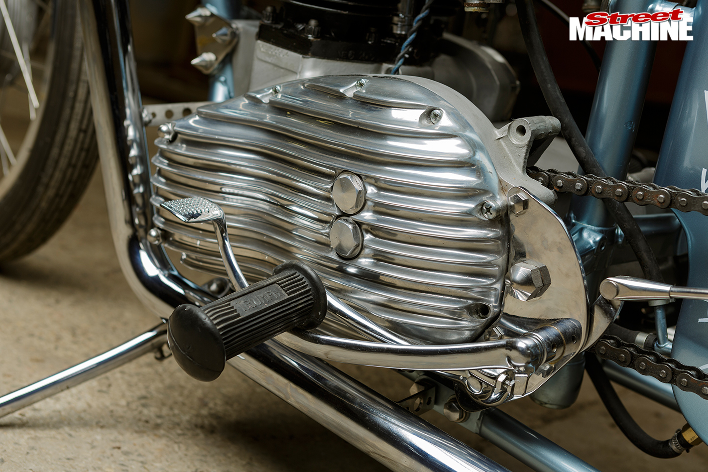 Triumph -tr 6p -detail -2