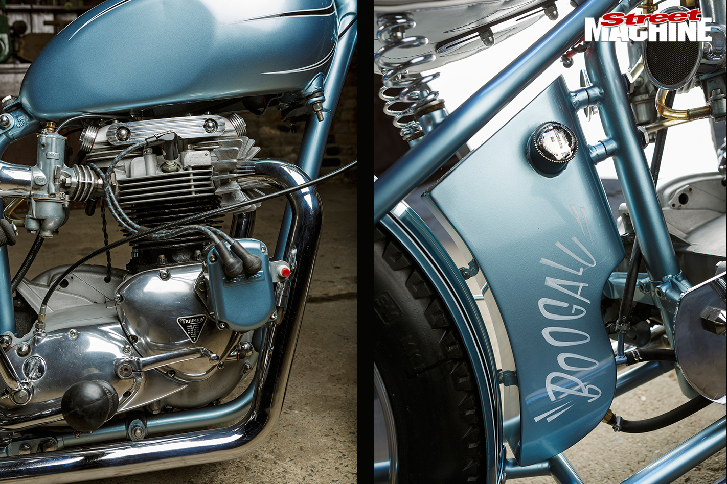 Triumph -tr 6p -detail
