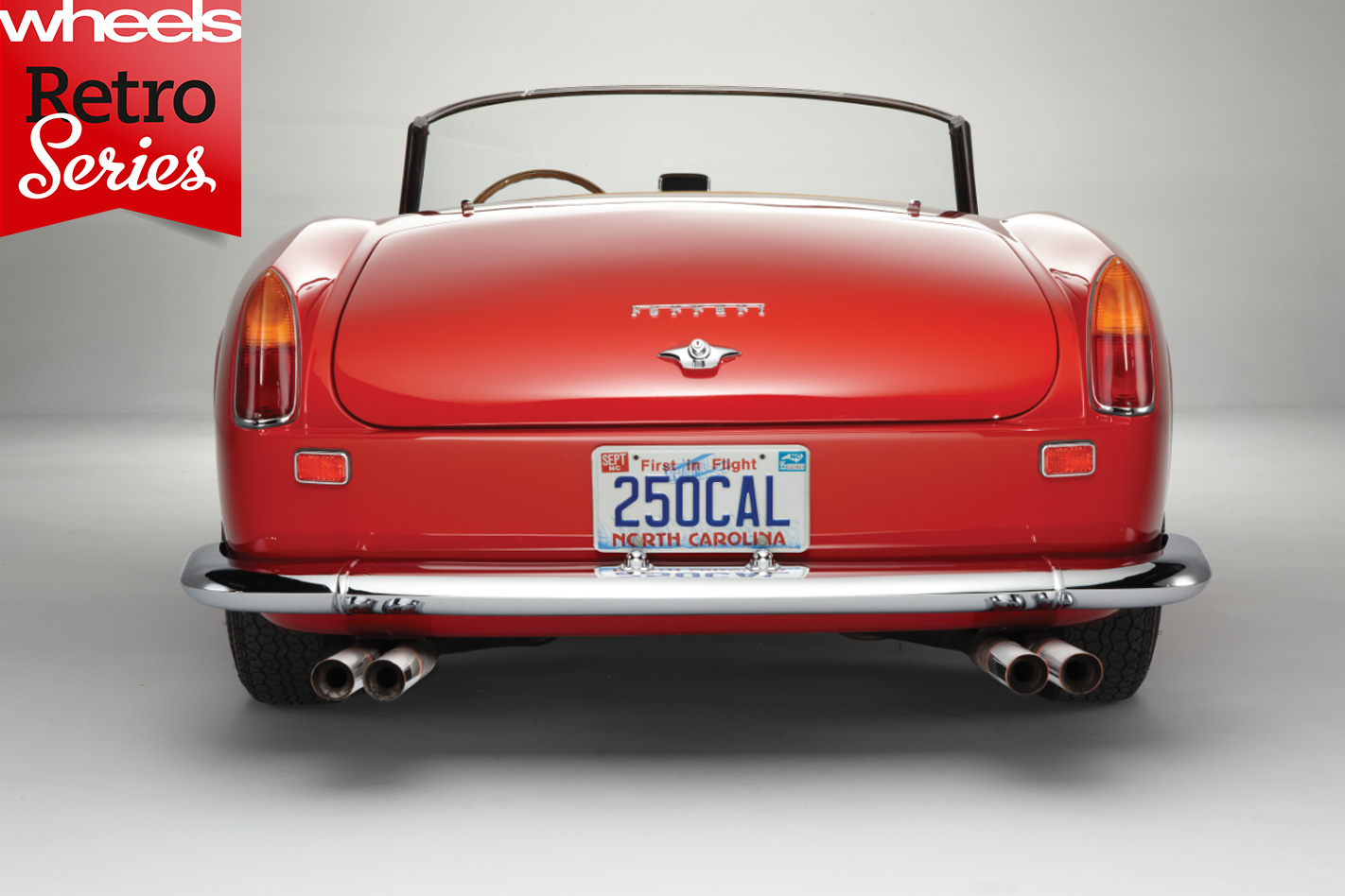 1960-Ferrari -250-GT-California -rear