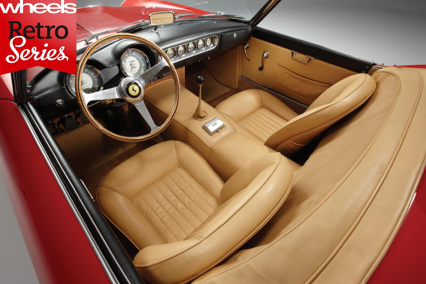 1960-Ferrari -250-GT-California -interior