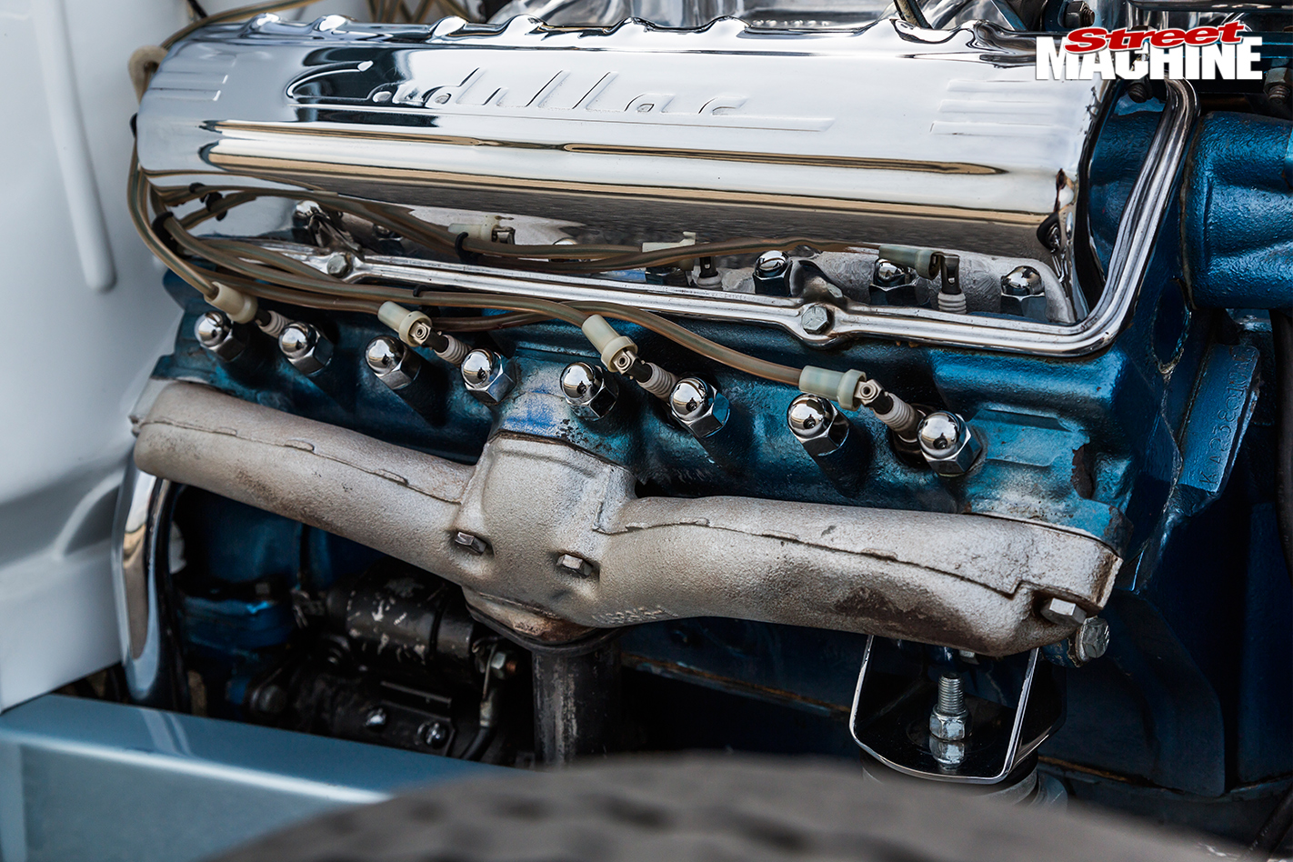 Livewire -hot -rod -engine Detail