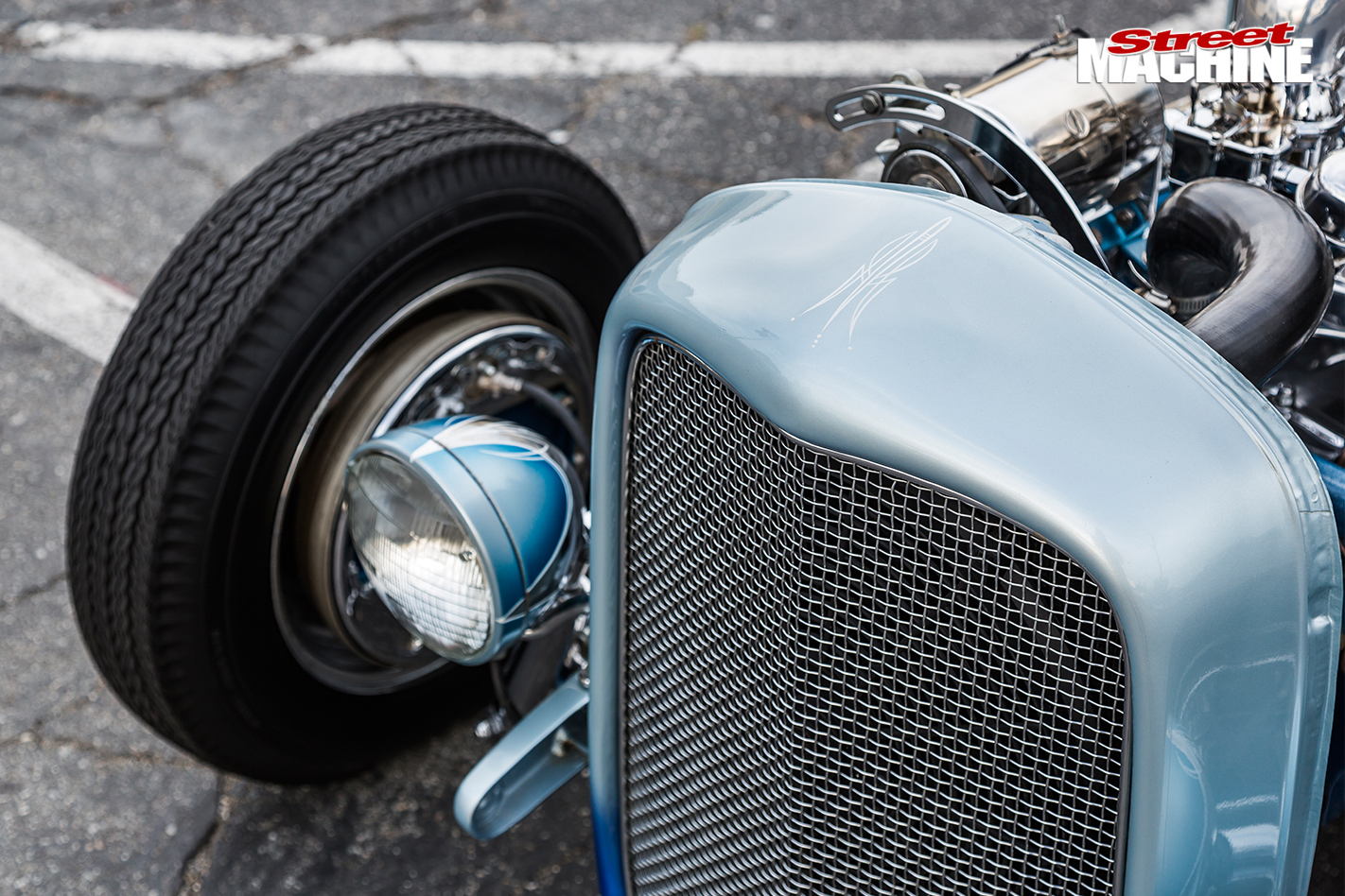 Ford -coupe -live -wire -front -detail