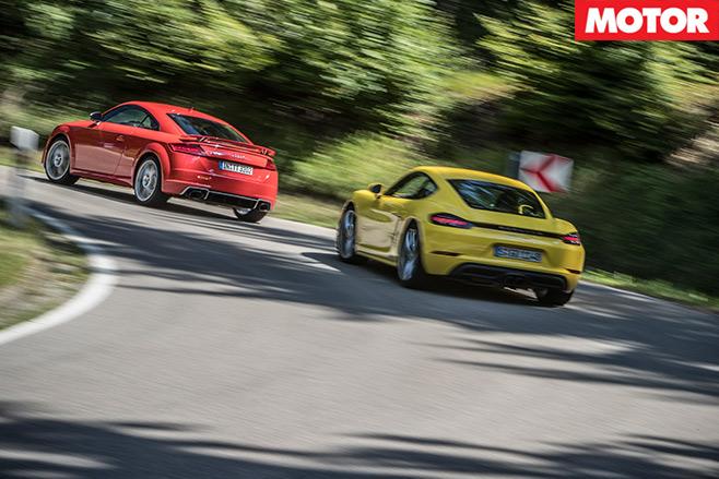 Porsche -718-Cayman -S-vs -Audi -TT-RS-2