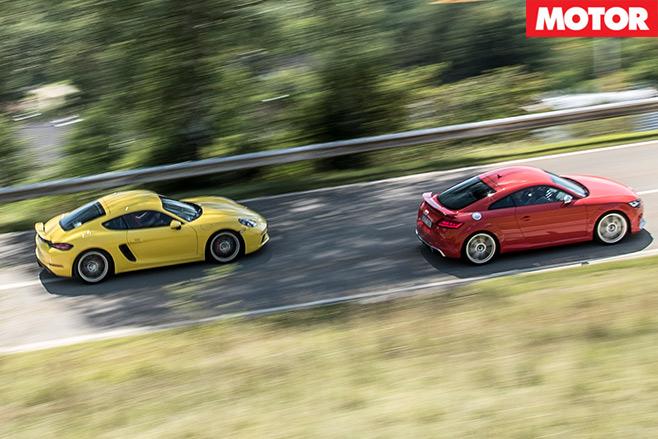 Porsche -718-Cayman -S-vs -Audi -TT-RS-11