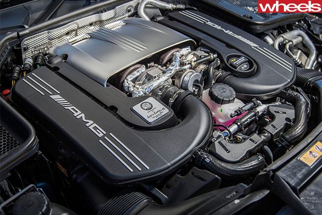 Mercedes -AMG-C63-S-2016-Engine