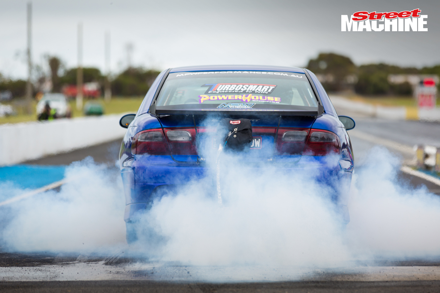 HSV Clubsport NOSHOW Burnout