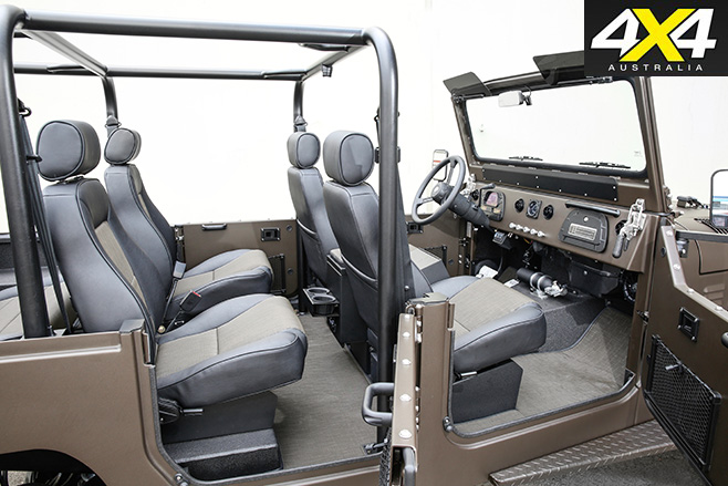LandCruiser ICON FJ44 interior