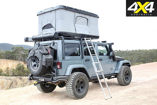 Wild Jeep JK Wrangler rear