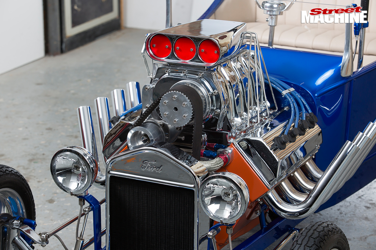 Mini -hot -rod -engine