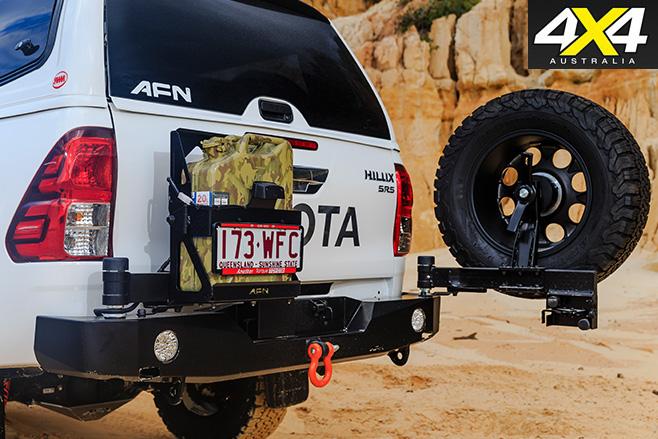 AFN Toyota Hilux Custom rear