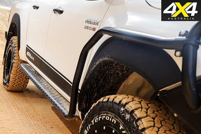 AFN Toyota Hilux Custom side