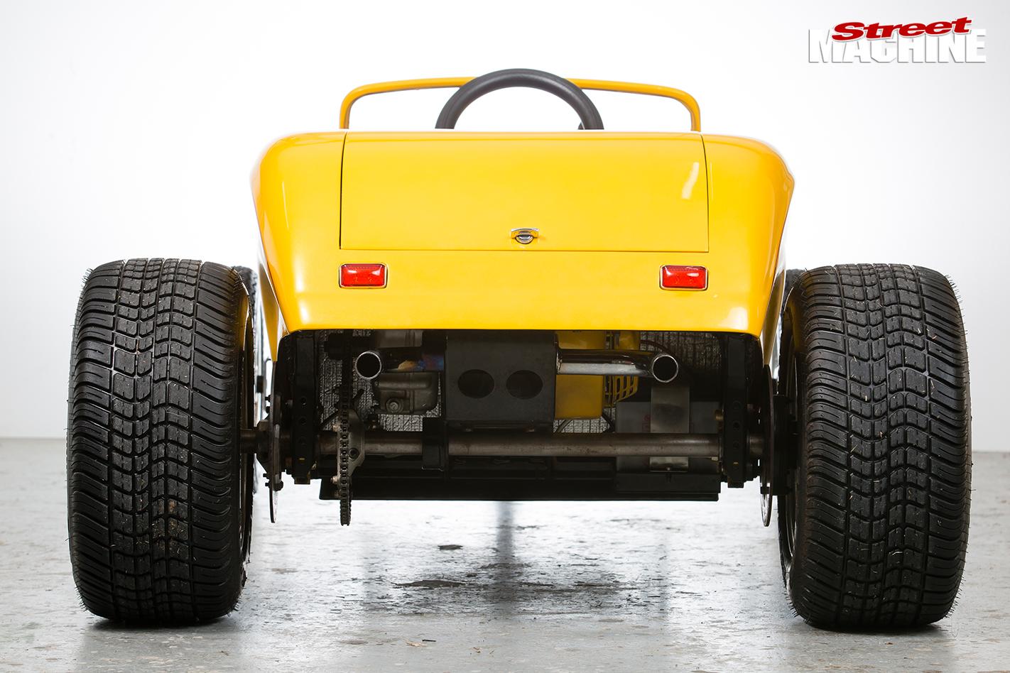 Mini -hot -rod -rear