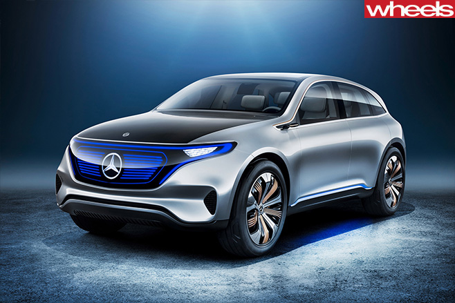 Mercedes -Gen -EQ-concept -front -side