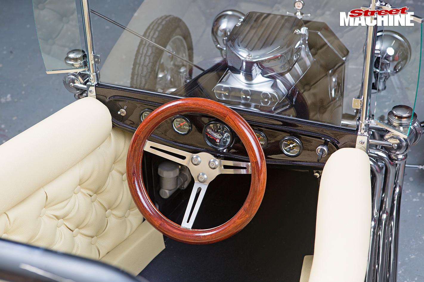 Mini -hot -rods -interior