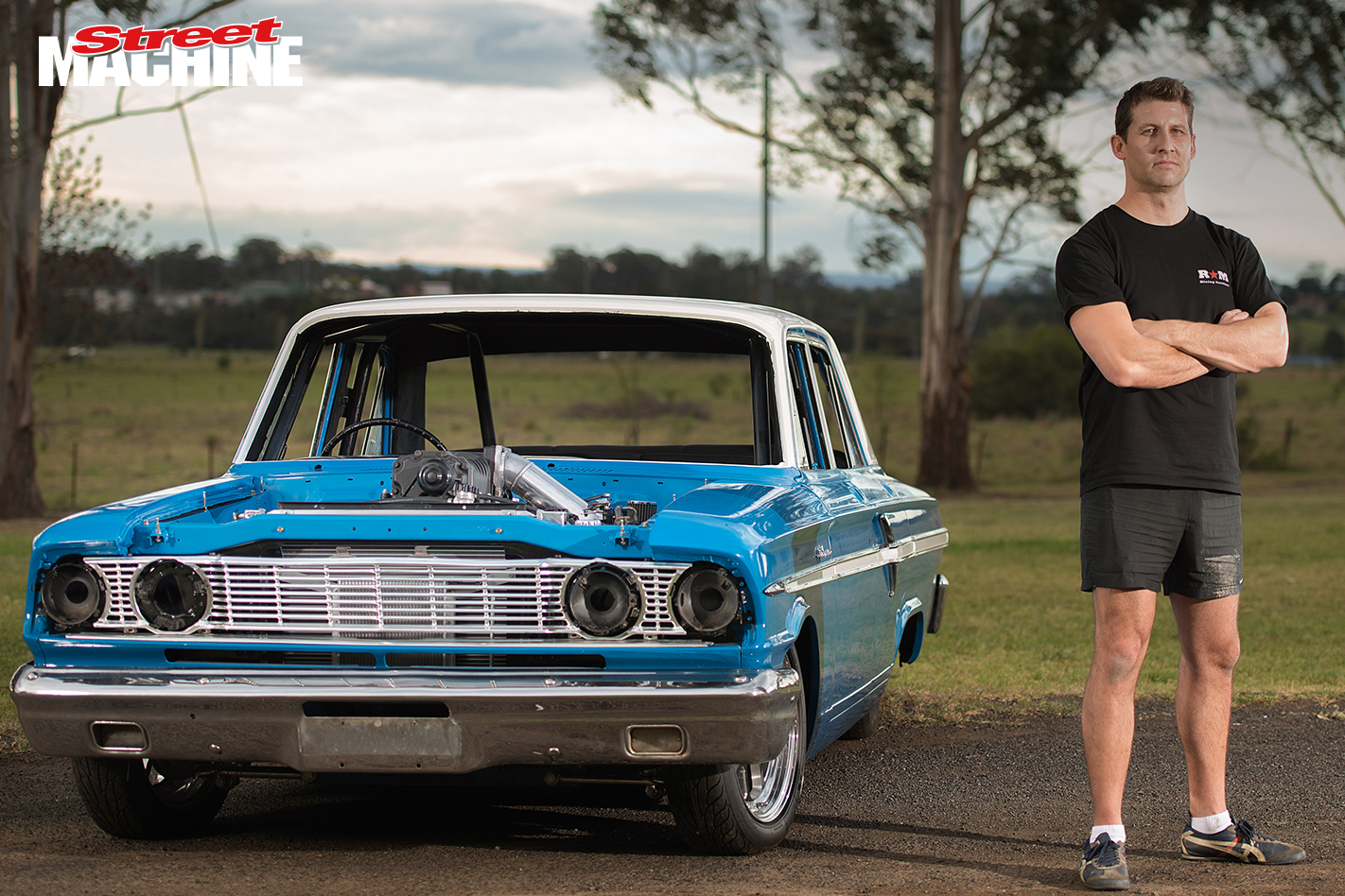 Ford Compact Fairlane V8 3