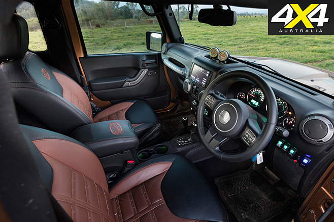 Murchison Jeep Wrangler interior