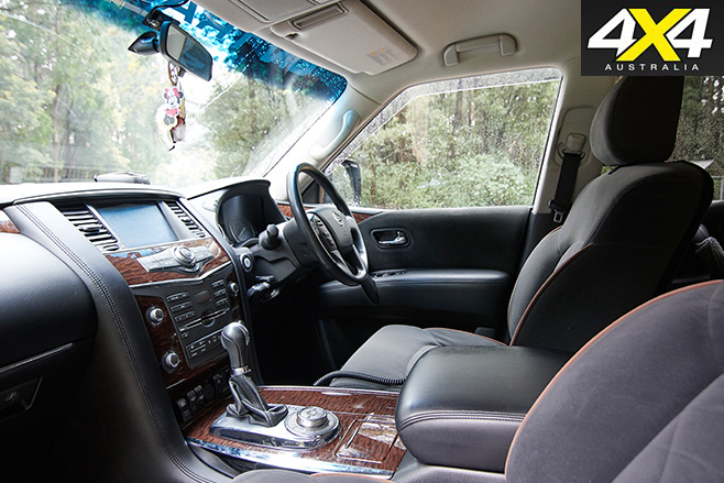 Supercharged Nissan Patrol Y62 interior