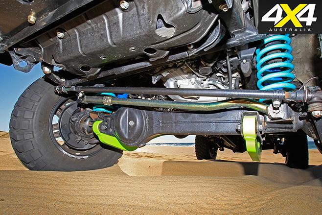 Custom -Toyota -Landcruiser -79-suspension