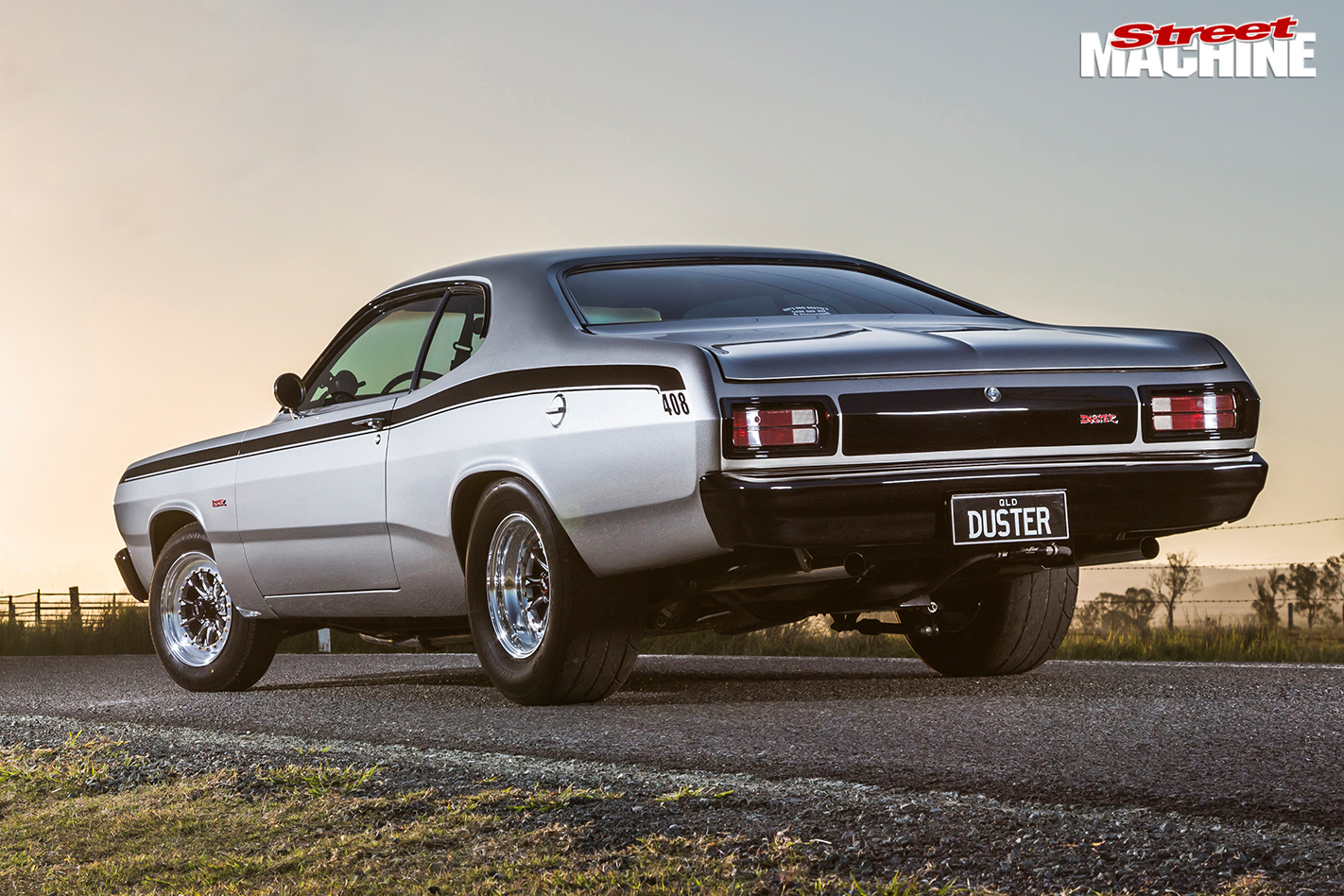 Plymouth duster rear