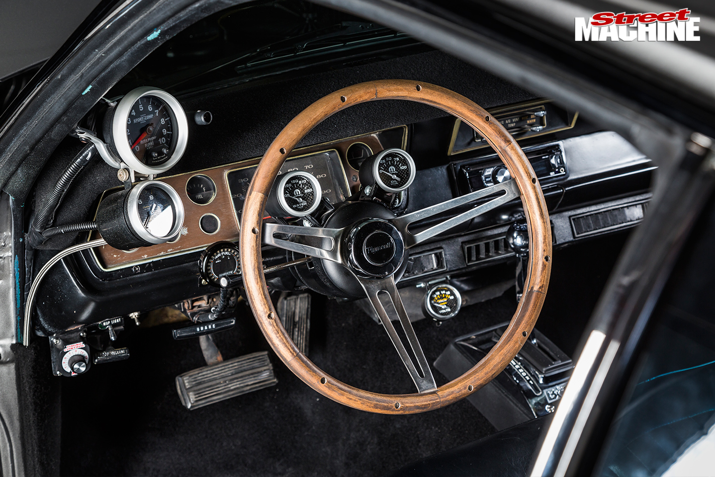 Plymouth -duster -interior -dash