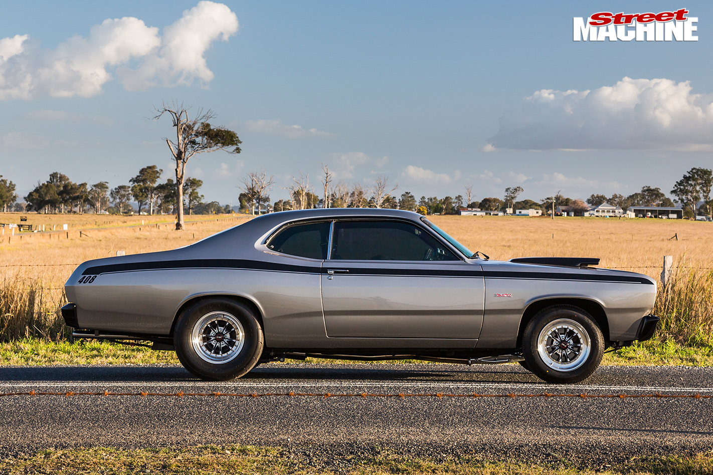 Plymouth duster sideview