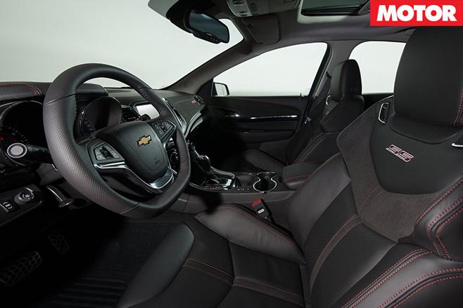 Chevrolet interior
