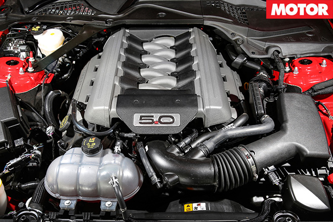 5.0litre engine