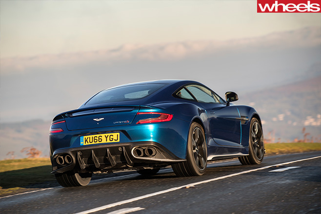Aston -Martin -Vanquish -S-Rear -side -blue -driving
