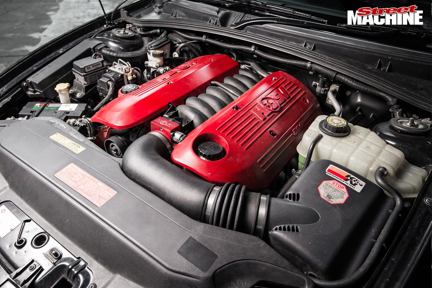 Hsv -gts -vt II-engine