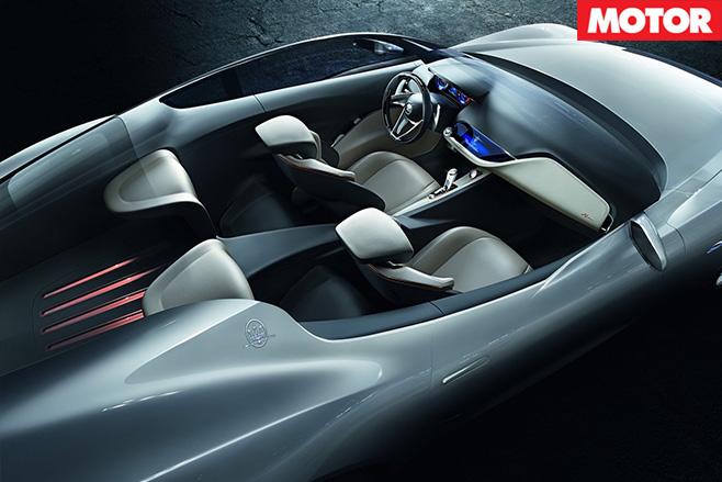 Maserati Alfieri top view
