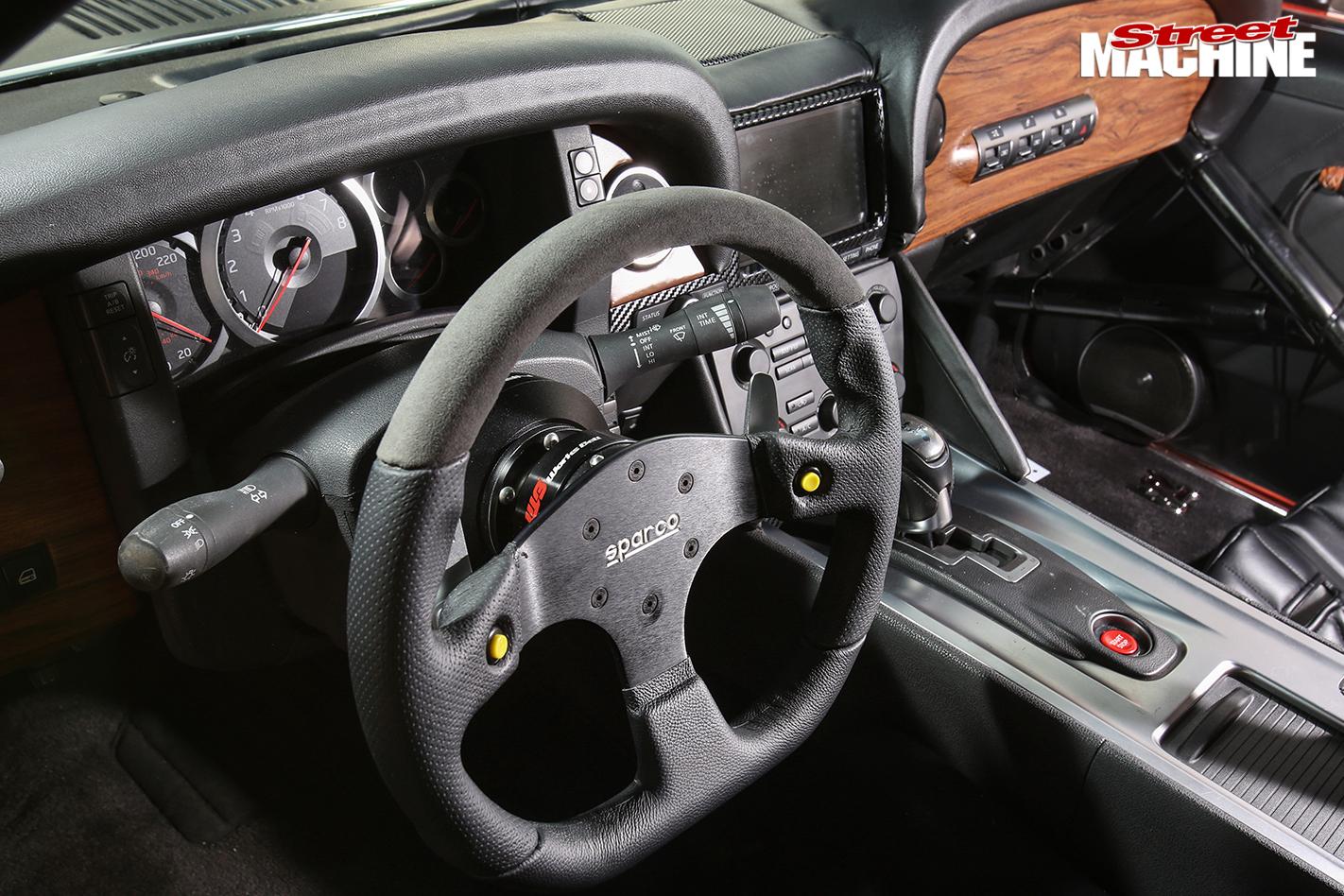 Ford -mustang -muzilla -interior