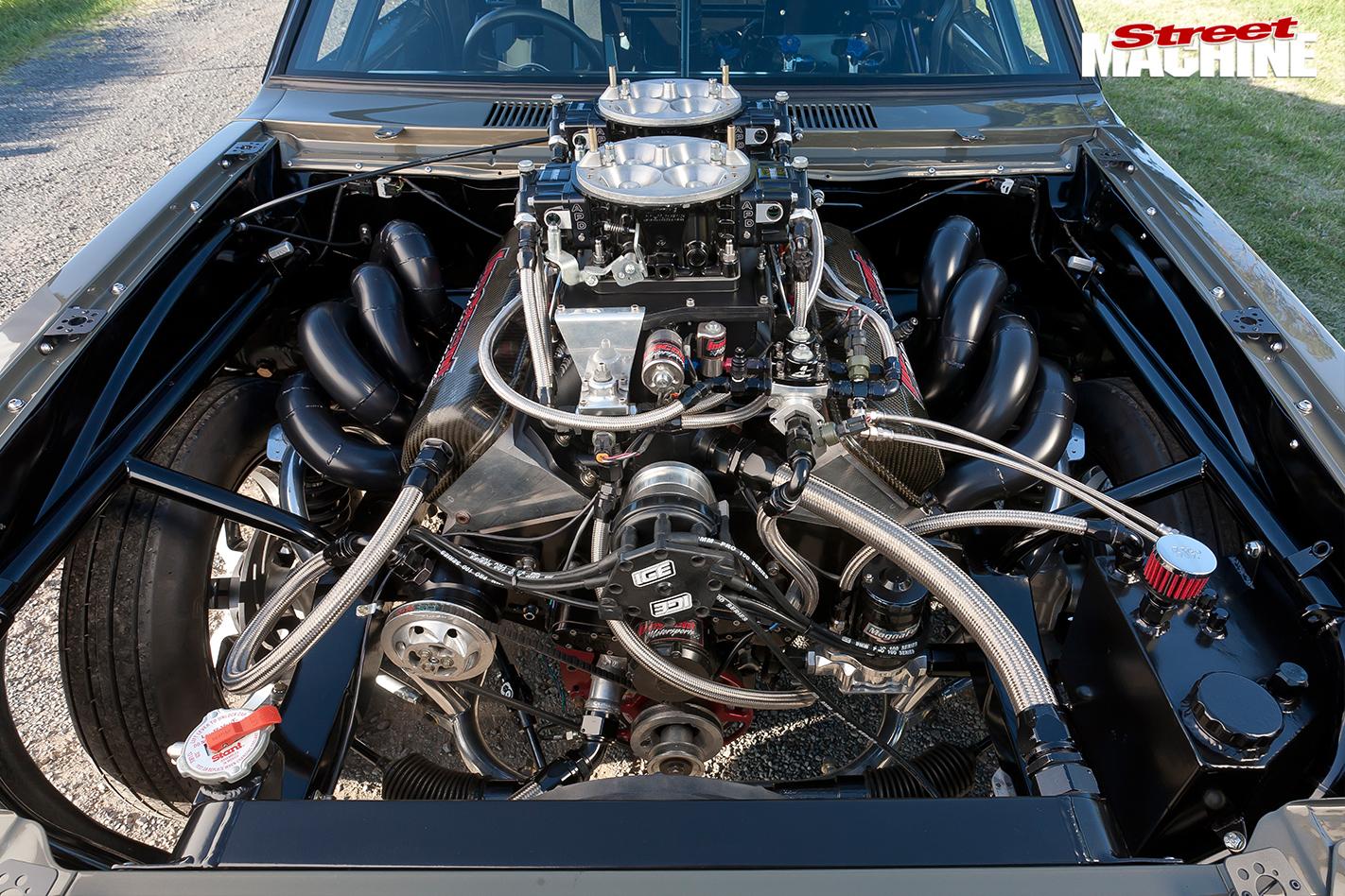 Holden -lh -torana -engine -bay