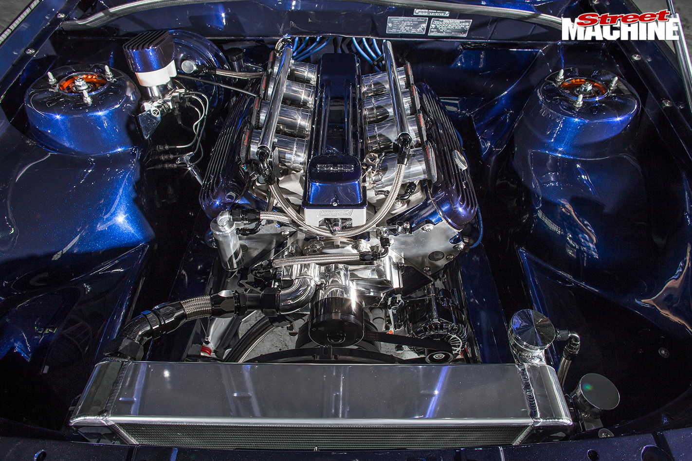 LS6-POWERED-1988-HOLDEN-VL-CALAIS-engine