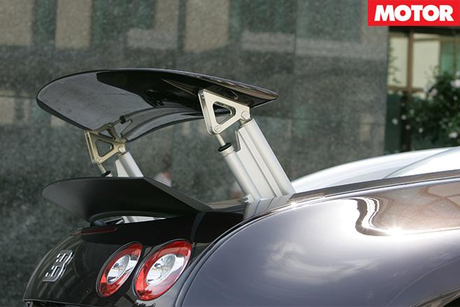 Bugatti Veyron wing