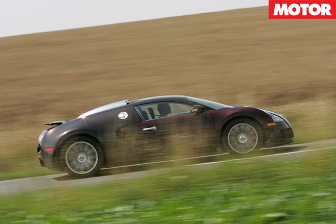 Bugatti Veyron side