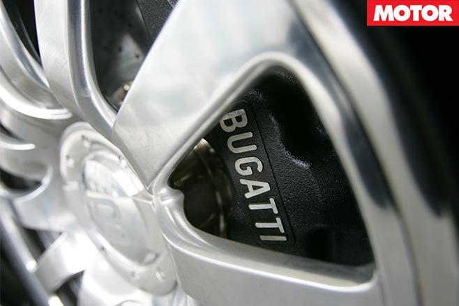 Bugatti Veyron brakes