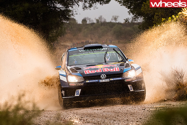 Sebastian -Ogier -wins -wrc -spain -car -front