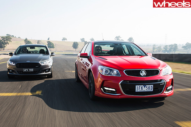 Ford -Falcon -XR8-Sprint -with -Holden -Commodore -SS-V-Redline -Ingall -vs -Skaife